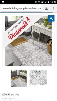 Small Bathroom, Tile Floor, New Homes, Flooring, Decor Ideas, Home Decor, Small Shower Room, Bathroom Small, Tile Flooring