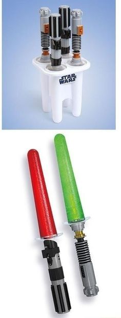 Star Wars DIY Popsicles...wish I could find these popsicle holders!