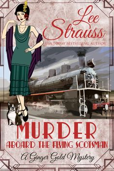 """Shared via Kindle. Description: """"Clever and entertaining, you'll love this charming Golden Age mystery series. And the fashion is to die for!"""" - Molly C. Quinn, actress, Castle Mayhem All Aboard! One blustery day in October of newlyweds Mr. Murder Mysteries, Cozy Mysteries, The Boat Club, Malboro, Boston Terrier Names, Flying Scotsman, Mystery Series, Mystery Thriller, Agatha Christie"""