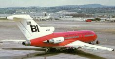 Braniff International Boeing 727-27C N7287 at Boeing's Renton plant, shortly before delivery, June 1967. (Photo: Boeing, Copyright: Braniff Flying Colors Collection)