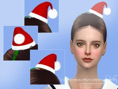 S-Club ts4 WM Headwear Christmas hat 201705