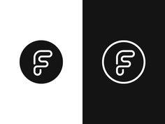 F / FS by Kakha Kakhadzen #Design Popular #Dribbble #shots