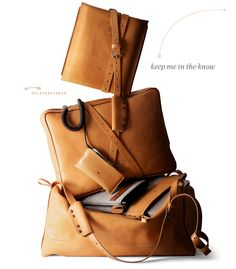 loving this brand and their gorg presentation!  hard graft / hard graft womens leather goods #oldfashioned