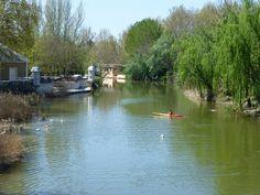 Embarcadero Real junto al río Tajo en los Jardines del Príncipe, Aranjuez, Madrid