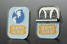 Designer Nina Cornelison imagined an amazing packaging to pay tribute to Ernest Hemingway's novel : The Old Man and the Sea.