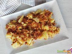 Patate gratinate al formaggio #ricette #food #recipes
