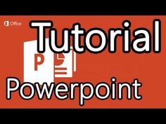 Tutorial Powerpoint 2013 - Cómo hacer presentaciones en Powerpoint - YouTube