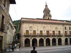 Guipuzcoa Plaza Mayor de Vergara.