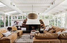 An Exclusive Tour of HGTV Star Leanne Ford's Gorgeous New Home - List of the best home decor Impala Chevrolet, Echo Park, Bungalow, Ford Interior, Decoracion Vintage Chic, Hgtv Star, Turbulence Deco, White Interior Design, French Interior