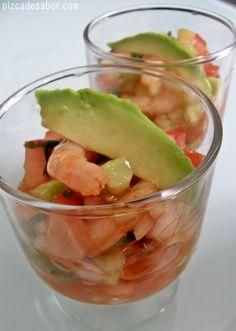 Coctel de camarón sencillo