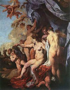 Johann Liss - Venus in front of her mirror. Tags: venus, afrodite, aphrodite,