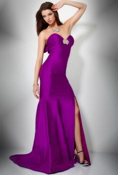 06bc91e83275a purple prom dresses 2012 Satin Dresses