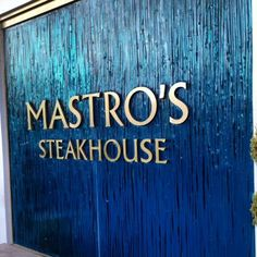 The always delicious and celebrity popular Mastro's Steakhouse in Beverly Hills.  #LindaMay #LindaMayProperties #LiveYourLuxury #LindaMay.com