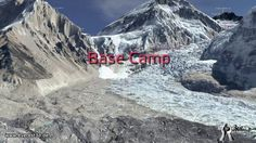 Video of the classic southeast ridge route for the ascent for world's talles mountain - Everest 3D. The interactive version of this amazing 3D model can be seen on www.everest3d.de.