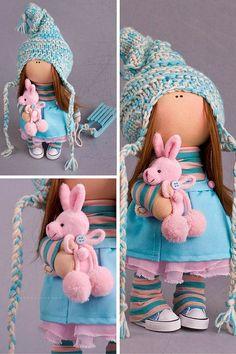 Tilda doll Baby doll toy Interior doll Art by AnnKirillartPlace