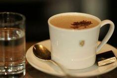 Zurich: Confiserie Sprüngli ( Grüezi Mitenand!) world's best hot chocolate