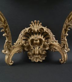 c1730 A Louis XV giltwood console, circa 1730 Estimation 8 000 - 12 000 € Sold 32,500 €