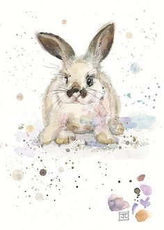 BugArt Critters ~ Baby White Rabbit. CRITTERS *NEW* Designed by Jane Crowther.