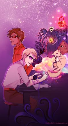 Welcome to Night Vale by nastjastark.deviantart.com on @deviantART