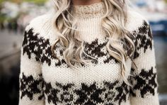 A Faroese woman stands in front of the harbor in Klaksvík as a rowing competition goes Country Women, Folk Fashion, Woman Standing, Knitting Designs, Faroe Islands, Knitwear, Chic, Stylish, My Style
