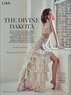 #DakotaJohnson for Marie Claire Magazine (May)  via:the50shadesworld.com