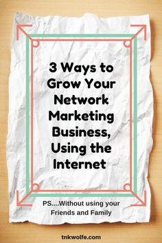 How to attract the right people to your network marketing business turn your website article into a video that pulls in traffic network marketing tipsmarketing toolsbusiness malvernweather Image collections