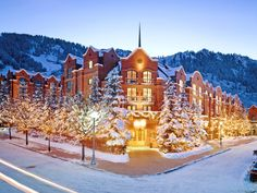 The St. Regis Aspen Resort is a Wedding Venue in Aspen, Colorado, United States. See photos and contact The St. Regis Aspen Resort for a tour. Best Honeymoon, Honeymoon Destinations, Holiday Destinations, Honeymoon Getaways, Honeymoon Spots, Honeymoon Packages, Romantic Destinations, Honeymoon Ideas, Vacation Packages