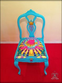 1000+ images about muebles pintados a mano on Pinterest  Upcycled furniture,...