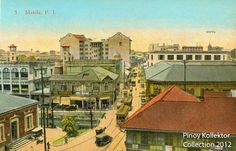 Philippine TRANVIAS (Street Cable Cars) in Postcards. Pinoy's first modern transportation Philippines Culture, Manila Philippines, Philippine Architecture, Baybayin, Philippine Art, Intramuros, Filipino Culture, Photo Postcards, Pinoy