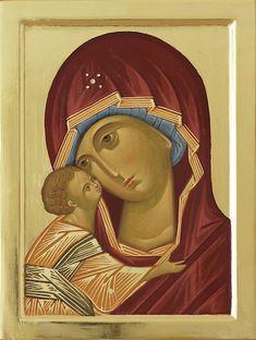 02 Rublev Mother of God 2 Madonna, Mona Lisa, Artwork, Painting, Art, Santa Maria, Virgin Mary, Nun, God
