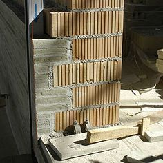 KOLUMBA :: Architecture :: 2005 Building Site Peter Zumthor Architecture, Ancient Architecture, Sustainable Architecture, Architecture Details, Landscape Architecture, Brick Facade, Brick And Stone, Kolumba Museum, Arquitetura