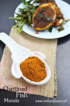 Homemade Fish Masala Powder Recipe, Fish Masala powder in chettinad style with fresh spices, use this to make fish fry or fish curry. how to make fish masala Curry Recipes, Fish Recipes, Seafood Recipes, Indian Food Recipes, Vegetarian Recipes, Cooking Recipes, Homemade Spices, Homemade Seasonings, Podi Recipe
