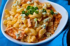 Buffalo Chicken Mac 'n Cheese -  a great take on 2 great favorites!