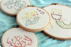 little lovelies: embroidery