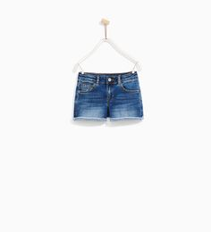 ZARA - KIDS - BASIC DENIM SHORTS
