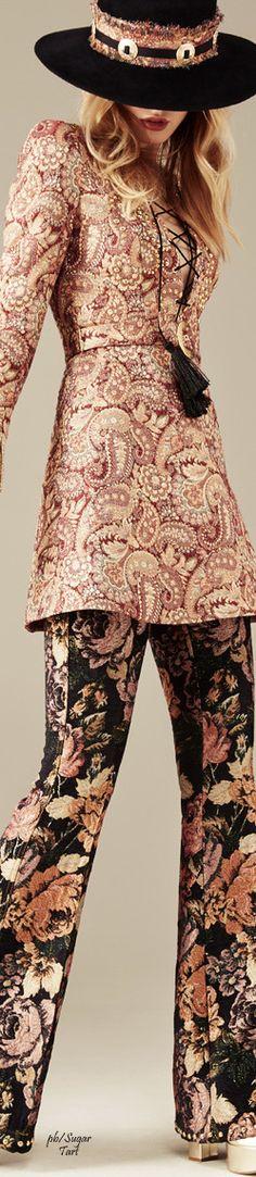 Maison Bohemique S/S 2015 women fashion outfit clothing style apparel @roressclothes closet ideas