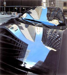 Richard Estes: Broad Street, New York City, 2003., pinned from Pilar Blasco