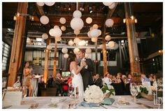Carmelina's friends Lindsay & Nick :: Toronto Steamwhistle Wedding - Tamara Lockwood Photography
