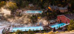 Mt. Princeton Hot Springs, CO  Outside of Buena Vista