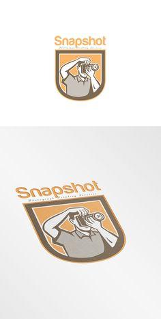 Snapshot Photography Logo by patrimonio on Creative Market