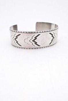 Georg Jensen, Denmark - Art Deco heavy silver cuff bracelet #38