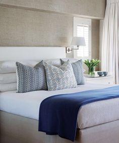 Privatehouse Co Peaceful Bedroom, Home Bedroom, Bedroom Decor, Bedroom Ideas, Big Bedrooms, Mantle Piece, Beach House Decor, Home Decor, Beautiful Bedrooms