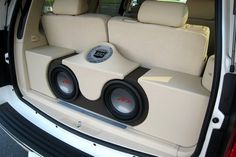 "speaker systems set up for cars | ... strengthen the ""higher pitched sound"" generated from the speakers"