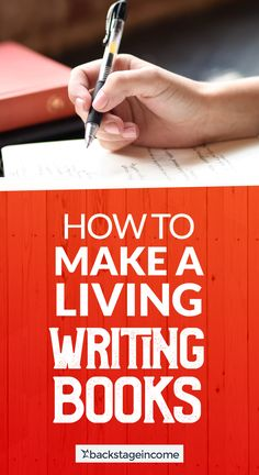 Right now I want to share with you if youre a writer how to make a living with your writing and your books. Fiction Writing, Writing Advice, Writing Help, Writing Skills, Writing A Book, Writing Prompts, Persuasive Writing, Make More Money, Make Money Online