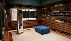 "New Fifty Shades Still ""Christian's Closet"" - Quotes, Scenes,Video,Soundtrack,Christian Grey - 50 Shades of Grey Movie ♥ online Walk In Closet Design, Bedroom Closet Design, Master Bedroom Closet, Wardrobe Design, Closet Designs, Wardrobe Ideas, Closet Ideas, Closet Organizer With Drawers, Closet Drawers"