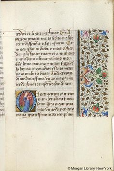 Book of Hours, M.287 fol. 24r - Images from Medieval and Renaissance Manuscripts - The Morgan Library & Museum