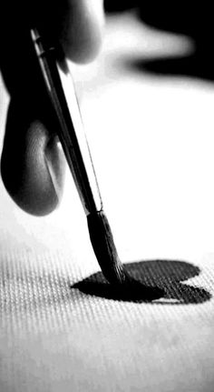 Paint / Black and White Photography