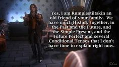 Rumple and the Mills Family.