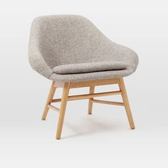 Mylo Chair - Feather Gray (Deco Weave) | west elm