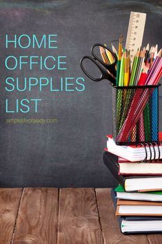 It pays to have a complete set of office supplies in your home office, so you can complete your work without being bothered of your supplies running out.